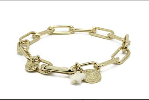ukelele gold bracelet